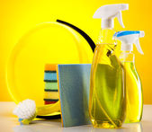 ürünler temizlik seti — Stok fotoğraf
