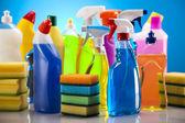 Temizlik ürünleri — Stok fotoğraf