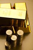 Golden Bar — Stock Photo