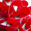 Red valentine heart — Stock Photo #19171259