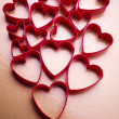 Red valentine heart - Stock Photo