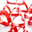 Stock Photo: Red valentine heart