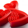 Foto Stock: Heart background