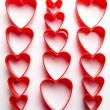 Stock Photo: Heart background