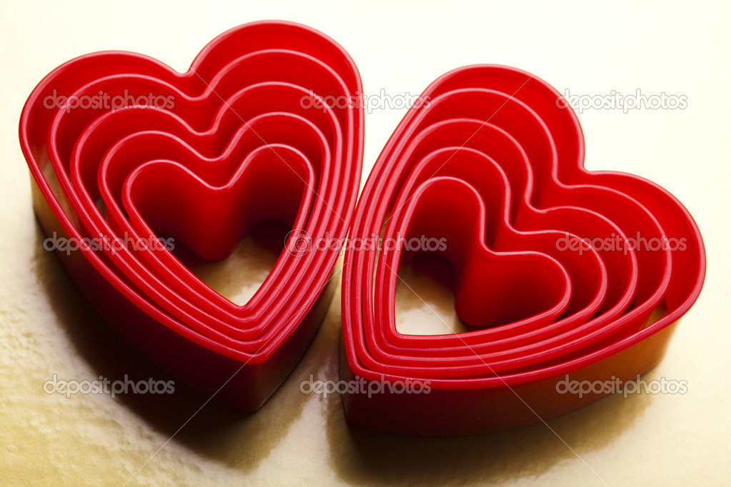 Heart background — Stock Photo #19174605