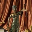 Statue of lady justice — Stock Video