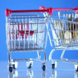 Stock Video: Shopping cart