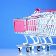 Shopping cart — Vídeo de stock #21262577