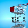 Stock Photo: Shopping cart
