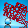 Stock Photo: Business, Success concept