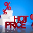 Stock Photo: Hot Price