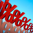 Percentage, Concept of discount — Stock Photo