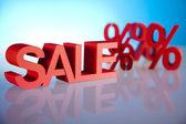 Sprzedaż, pojęcie procentu — Zdjęcie stockowe