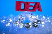 Light bulb Idea — Stock Photo