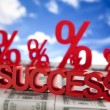 Success sign — Stock Photo #22662921