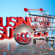 Shopping cart — Stock Photo #22664449