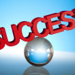Success sign — Stock Photo #22666995