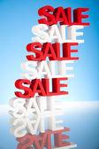Sale background — Stock Photo