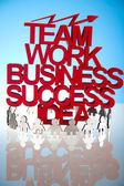 Teamwork concept — Stok fotoğraf