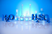 Chemistry science formula — Stock Photo