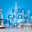 Stock Photo: Sterile conditions, Laboratory glassware