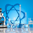 Sterile conditions, Laboratory glassware — Foto Stock