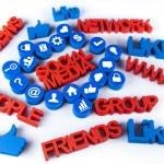 Social media — Stock Photo #24551705
