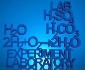 Chemistry formula background — Stock Photo