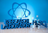 Laboratory equipment — Stockfoto