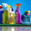 Foto de Stock  : Cleaning products