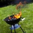 Fire, Hot grilling — Foto de stock #28437957