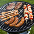 Grilling at summer weekend — Stock Photo #28438465