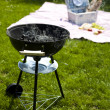 Grill background — Stockfoto