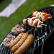 Grilling at summer weekend — Stock Photo #28439209