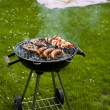 Grilling at summer weekend — Stock Photo #28439255