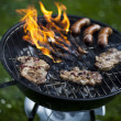 Grilling at summer weekend — Stock Photo #28439855
