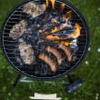 Grilling at summer weekend — Stock Photo #28440139