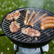 Grilling at summer weekend — Stock fotografie