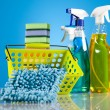 Cleaning products — Stock Photo