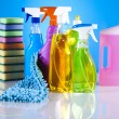 Assorted cleaning products — Stock Photo #28445261