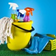 Assorted cleaning products — Stock Photo #28445429