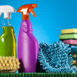 Assorted cleaning products — Stock Photo #28445471