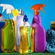 Assorted cleaning products — Stock Photo #28445495