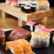 Asia food sushi — Stock Photo