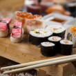Stock Photo: Asia food sushi