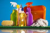 Dům čisticí přípravek — Stock fotografie