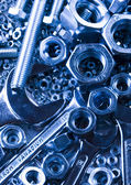 Nuts and bolts — Foto Stock
