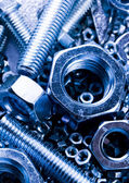 Nuts and bolts — Stockfoto