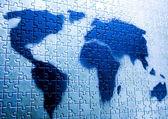 Weltkarte — Stockfoto
