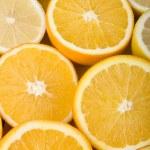 Orange and lemon — Stock Photo